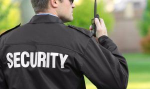 Image of a security guard, Security Guard Blog, Allied Nationwide Security