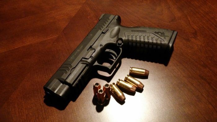Image of a Hand Gun, Allied Nationwide Security, Blog