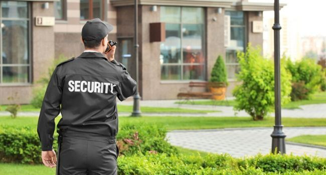 Image of a security guard, Allied Nationwide Security, Security Guard Company in Los Angeles